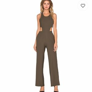 NWT ARMY GREEN REVOLVE JUMPSUIT